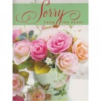 Sorry From The Heart - Greeting Card