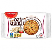 Munchy's Oat Krunch Crackers 208g - Strawberry & Blackcurrant
