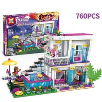 760 Pcs Lego House Toy Set For Kids (5-12 Years)