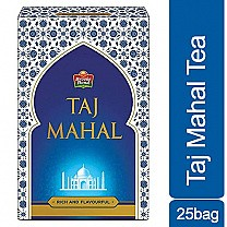 Taj Mahal Tea - Rich and Flavourful (25 Bags) buy online in Nepal.