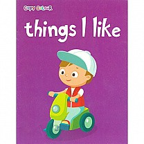 Things I Like Colouring Book by Pegasus