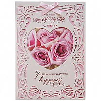 To The Love Of My Life - Archies Big Size Greeting Card