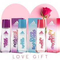 Adidas 3 Flavor Perfume Combo (With Free Rose) for Her