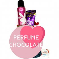 Playboy Super Fragrance Spray and Silk Chocolate for Her