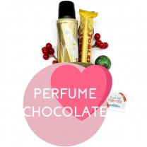 Playboy VIP Fragrance Spray and Toblerone Chocolate for Her
