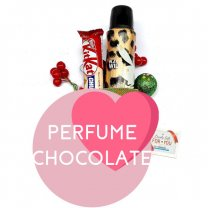 Playboy Wild Fragrance Spray and Kitkat Chunky Chocolate for Her
