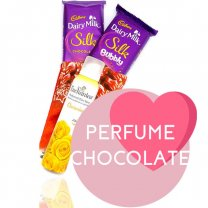 Enchanteur Fragrance and Cadbury Silk Bars for Her