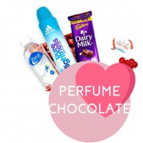Adidas Fragrance, Hand Sanitizer and Chocolate for Her