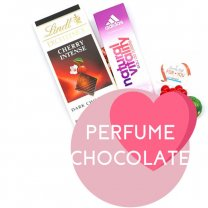 Adidas Perfume, Lindt Excellence Chocolate Bar for Her