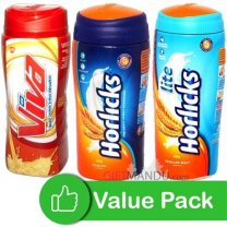 Health Drinks (Horlicks and Viva)