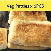 Veg Patties from Ageno Bakery x 6Pcs Pack