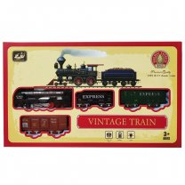 Vintage Train Toy For Kids (3+ Years)