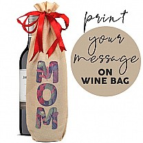 Print Message on Wine Bag (Staff Pick Sweet Wine Included)