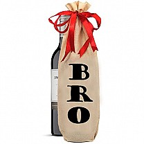 BRO Printed Wine Bag (Staff Pick Sweet Wine Included)
