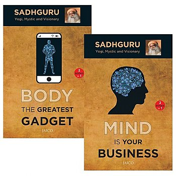 Mind Is Your Business / Body The Greatest Gadget (2 Books in 1) by Sadhguru