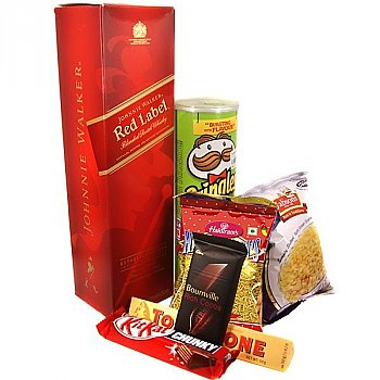 Beverage and Snacks Package (7 Items)