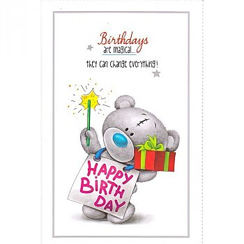 Birthdays are Magical - Greeting Card
