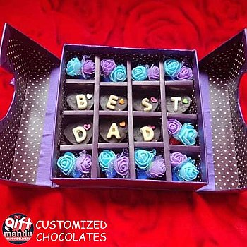 'BEST DAD' Father's Day Special Chocolate Box