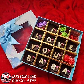 Assorted Chocolate Box 16 Pcs - Father's Day Special