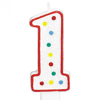 One Number Candle For Cake
