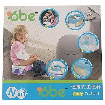 Potty Travel Set - Portable With Disposable Bags