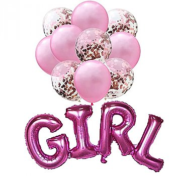 Baby Shower Decorations - Baby Girl Theme