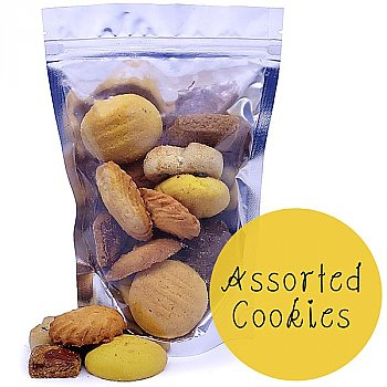 Home Selected Assorted Cookies Fresh Pouch 120g [Giftmandu Pick]