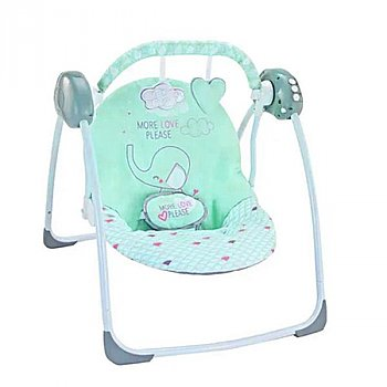 Deluxe Bouncer Portable Baby Swing (0-3 yrs)