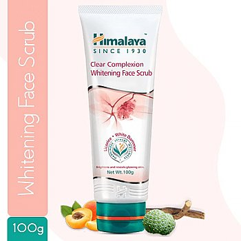 Himalaya Clear Complexion Whitening Face Scrub (100g)