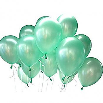 Latex Balloons Mint Green 6 Pieces Pack