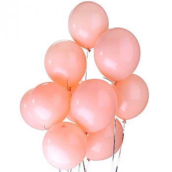 Latex Balloons Pink 6 Pieces Pack