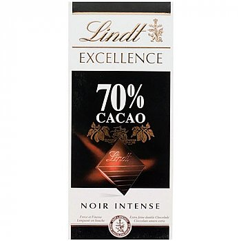 Lindt Excellence 70% Cocoa Intense Dark 100g