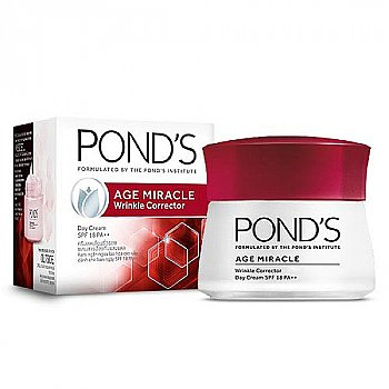 Pond's Age Miracle Wrinkle Corrector Day Cream 50g (SPF18 PA++)