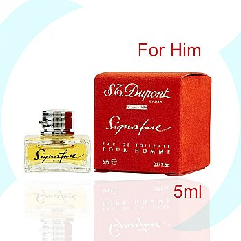 S.T. Dupont Signature Pour Homme EDT Perfume Spray For Him 5ml