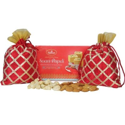 Rakhi Special - Dry Nuts And Soan Papdi