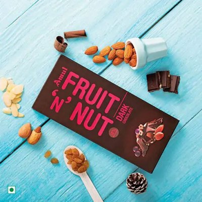 Amul Fruit 'N Nut Dark Chocolate 150g