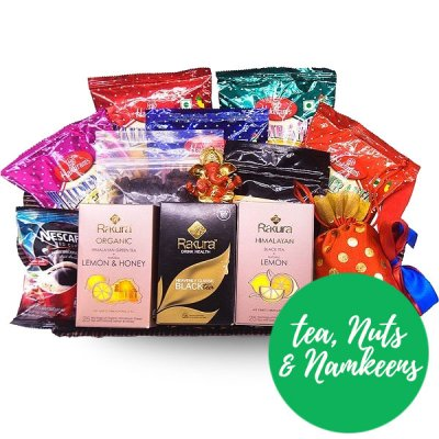 Dry Fruit & Nuts With Namkeen Snacks, Tea and Coffee
