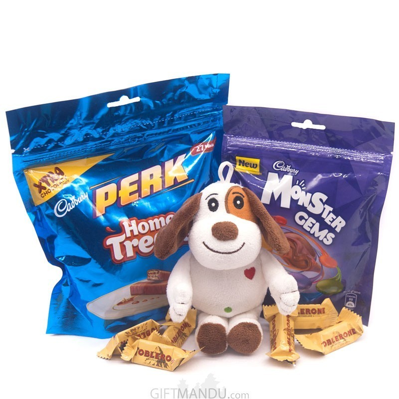 Chocolate Treats Pack & Puppy Toy
