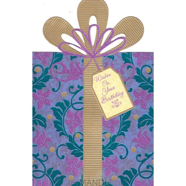 Wishes On Your Birthday - Greeting Card