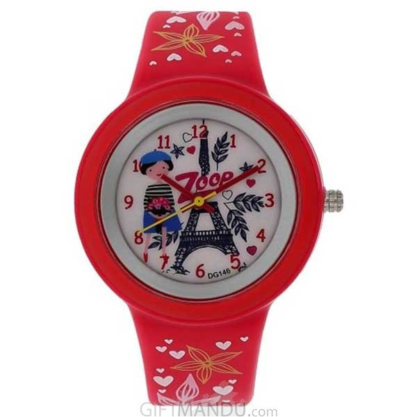 Titan Zoop White Dial Analog Watch for Girls (C26006PP01)