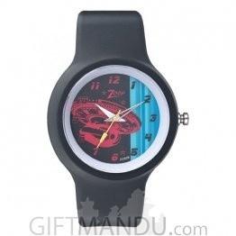 Titan Zoop Black Dial Analog Watch for Kids (C3029PP06)