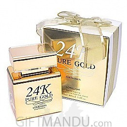 24K Pure Gold by Lonkoom 100ml Perfume for Her