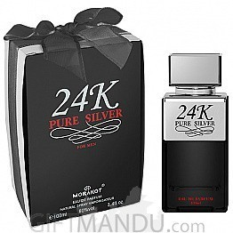 24K Pure Silver by Morakot 100ml Perfume for Her