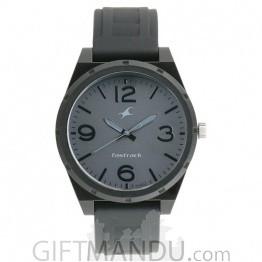 Fastrack Trendies Black Dial Analog Watch for Men- 38040PP01