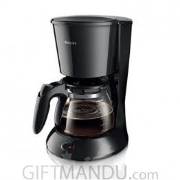 Philips Coffee Maker with Glass Jug Black (HD7447/20)