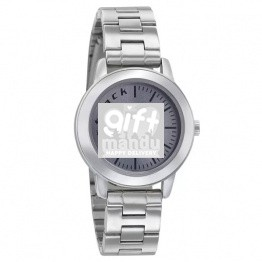 Fastrack Fundamentals Analog Grey Dial Watch For Women