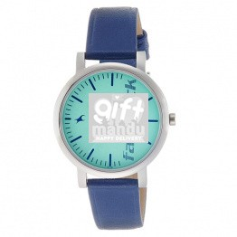 Fastrack Fundamentals Analog Blue Dial Women's Watch- 68010SL03