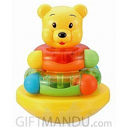 Kidsme Kiss My Little Bear Roly Poly Double Stacking Ring - 9269A