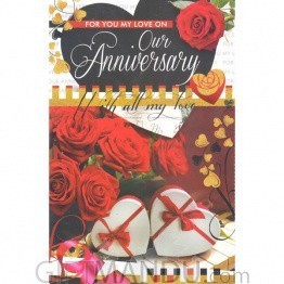 Our Anniversary - Greeting Card