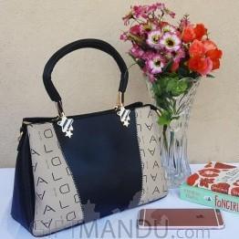 Elegance Designer Ladies Handbag- Black